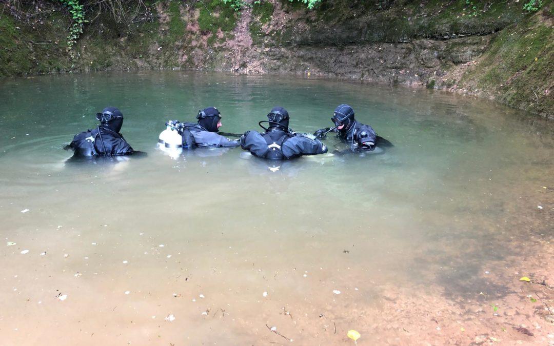 TDI Cave Diver